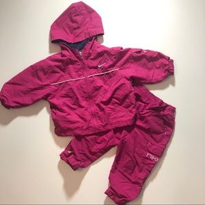 3T Nike Outwear Clothes Set Jacket Pants Fall
